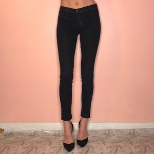 J brand black skinny jeans size 25